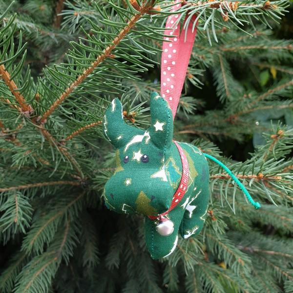 Бычок елочный зеленый