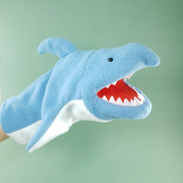 """Лялька-рукавичка """"Акула"""""""