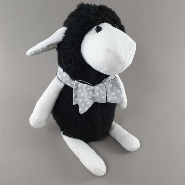 М'яка іграшка овечка чорна