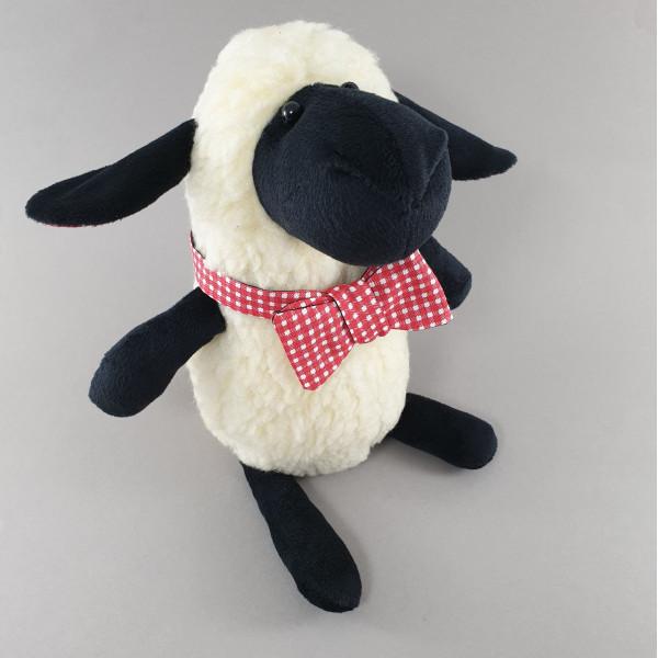 М'яка іграшка овечка молочного кольору