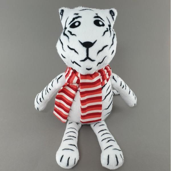 Мягкая игрушка Тигр в полосатом шарфике