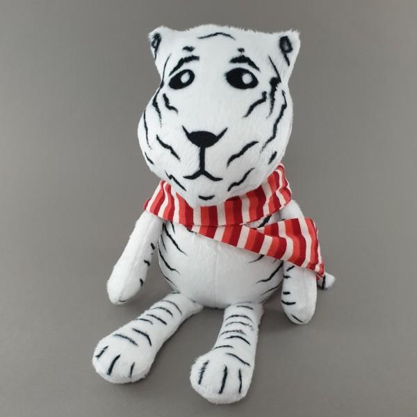 М'яка іграшка Тигр в смугастому шалику