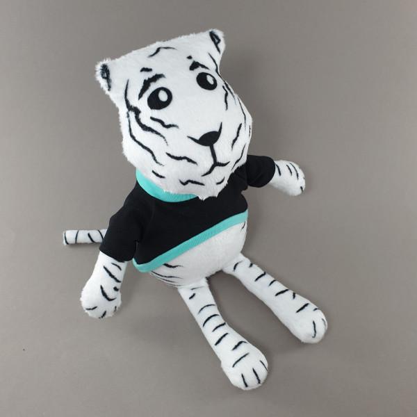 Мягкая игрушка Тигр в черном свитшоте