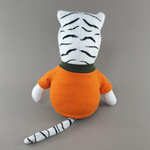 М'яка іграшка Тигр в чорному світшоті