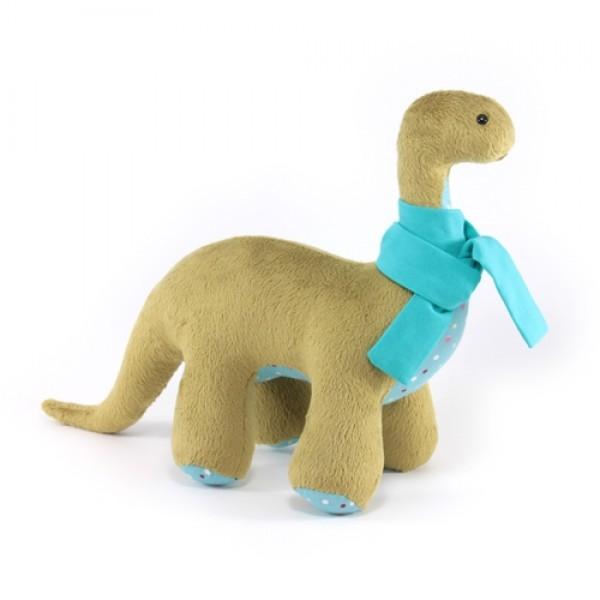 Динозавр Бронтозавр зелений