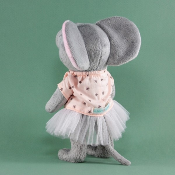 Мягкая игрушка Мышь серая Шарлотта