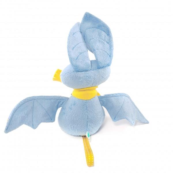 Мягкая игрушка Мышь летучая голубая