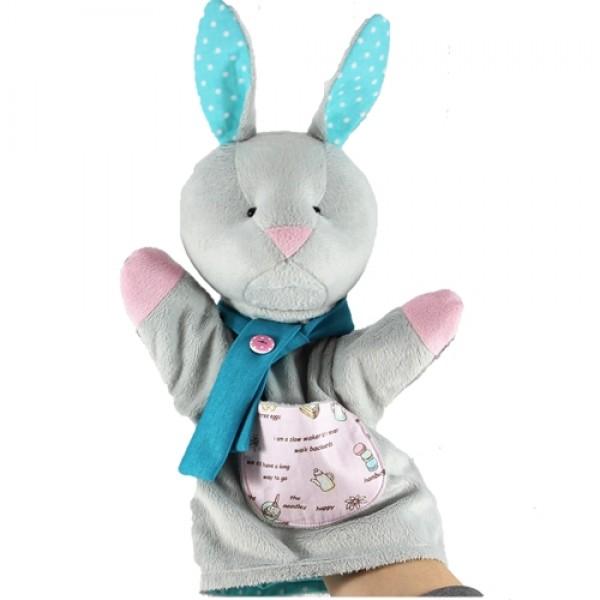 Лялька-рукавичка Зайчик