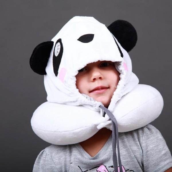 """Подголовник с капюшоном """"Панда"""""""