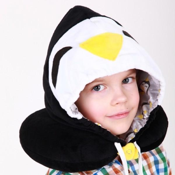 """Підголовник з капюшоном """"Пінгвін"""""""