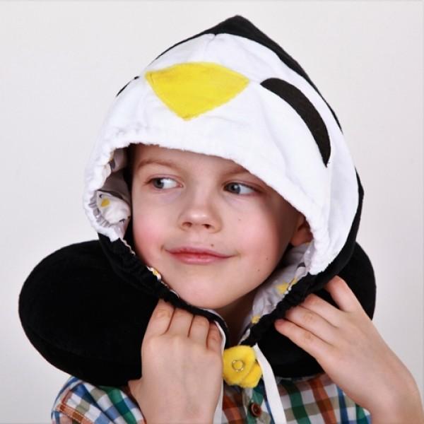 """Подголовник с капюшоном """"Пингвин"""""""