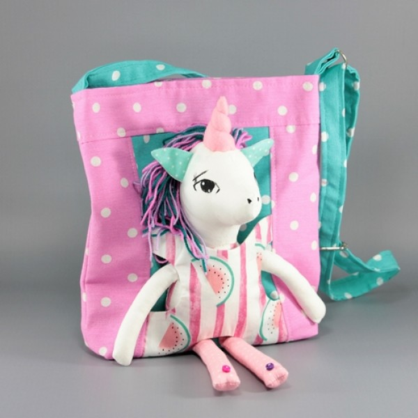 Handbag with unicorn 2