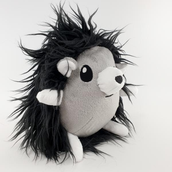 Мягкая игрушка Еж черно-белый